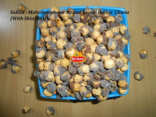 Salted - Mahabaleshwar Rosted Gram  Daliya  Chana With Skin