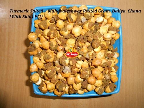 Turmeric Salted -  Mahabaleshwar Rosted Gram  Daliya  Chana With Skin