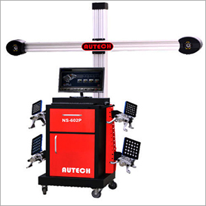 3D Multi Dimensional Wheel Aligner Machine