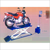 Two Wheeler Service Lift