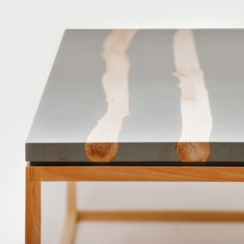 Showrooms Concrete Table