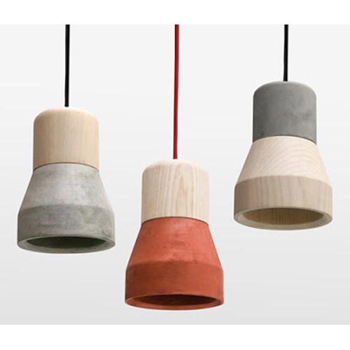 Showrooms Concrete Hanging Lamp