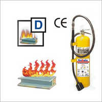 D TYPE Fire Extinguishers