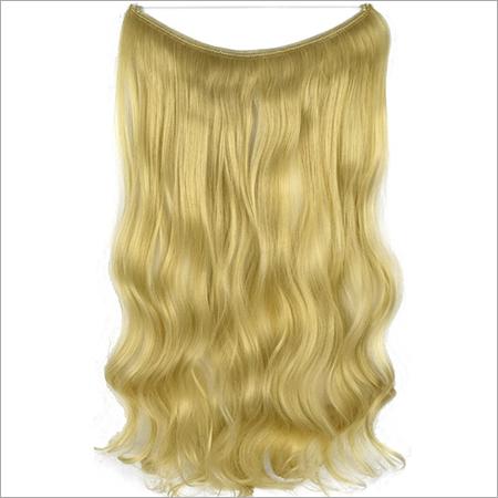 Blonde Weft Hair