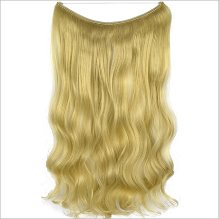 Frontal blonde hair
