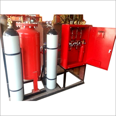 Dry Powder Fire Suppression System