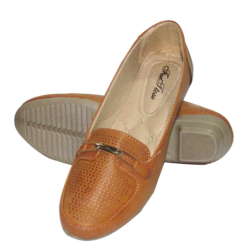 Ladies Leather Belly Shoes