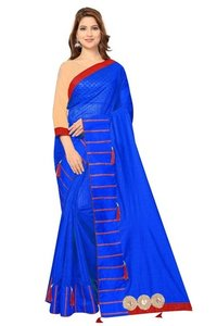 Pure Soft Polyester Saree