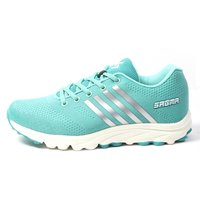 Sagma women's Sea-Green sports shoes