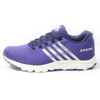 Sagma women's Purple sports shoes