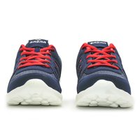 Sagma women's Navy Blue-Red sports shoes
