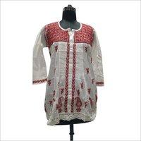 Ladies Handmade Lucknowi Kurti