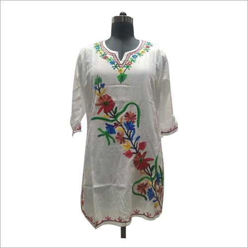Ladies Cotton Bale Long Blouse/Kurti