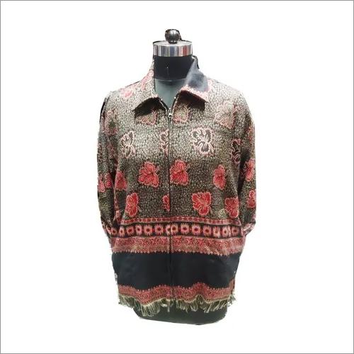 Unisex Collar Zip Jacket