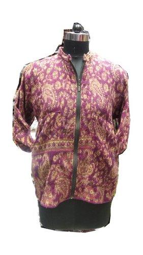 Unisex Jamawar Zip Jacket