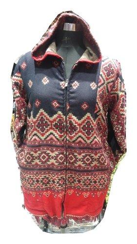 Unisex Hood Zip Jacket