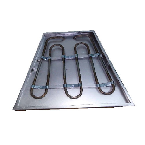 Metal Clad Hopper Heater