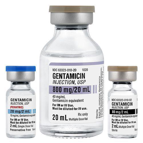 Cidomycin, Septopal, Genticyn, Garamycin