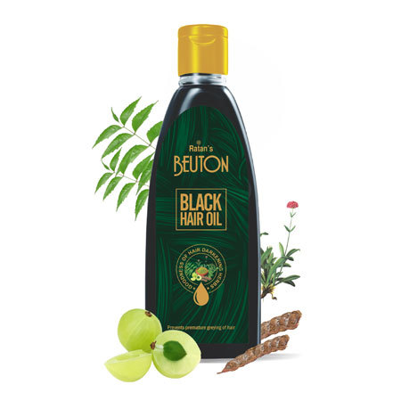 Black Hair Oil