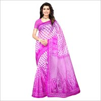 Cotten Print Saree
