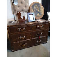 Leather Chest Drawer