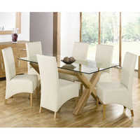 Dining Table Leather Chair