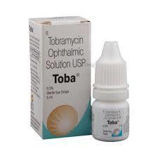 Tobramycin, Toba