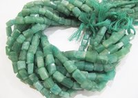 ON SALE Natural Green Amazonite Nugget Shape Laser Cut
