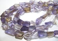 ON SALE Natural Ametrine Irregular Nugget Shape Laser Cut