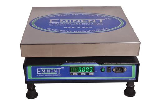 ELECTRONIC CHICKEN PLATFORM WEIGHING MACHINE.