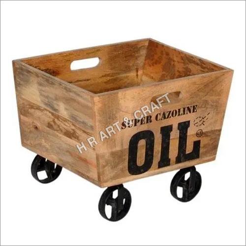 Modern Wooden Trolley