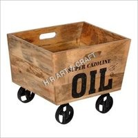 Modern Wooden Trolley