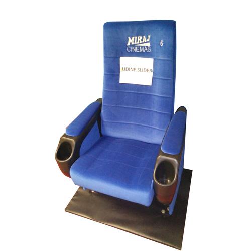 Blue Udine Slider Cinema Chairs