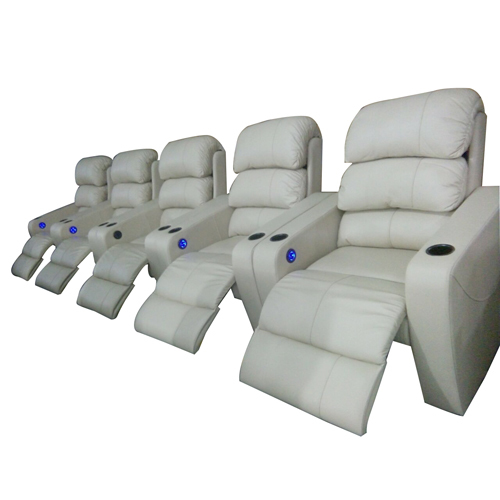 Leather Cinema Recliner Sofa