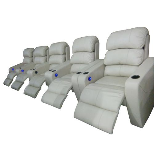 Leather Cinema Recliner Sofa