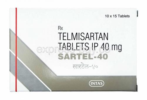 Sartel 20 mg tablets
