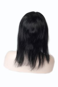 hair wig remy human hair 100% front lace women wig