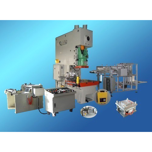 Silver Foil Container Making Machine