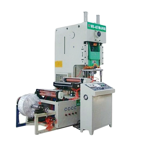 Fully Automatic Aluminum Foil Container Machine