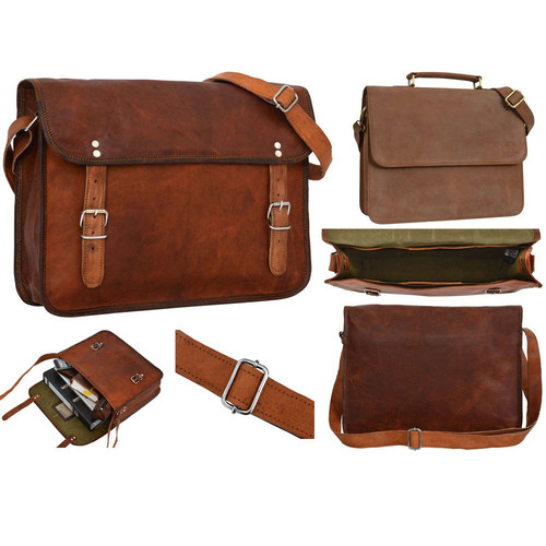 Fancy Leather Laptop Bag