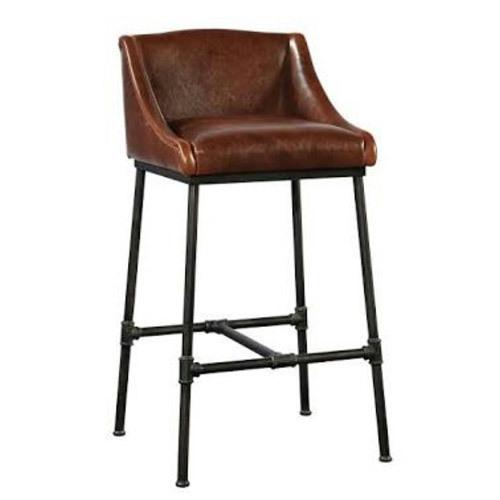 Leather Bar Stool Chair