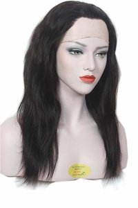 Remy human hair wig  Front lace 100% original women hair wig