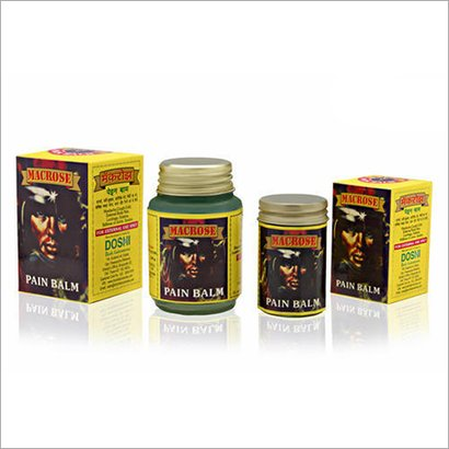 Pain Relief Balm Age Group: For Adults