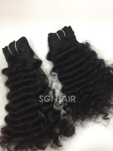 Temple Hair Deep Curly