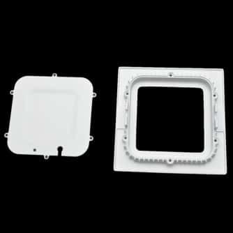 Led Slim Panel Square Fixture 12 Watt