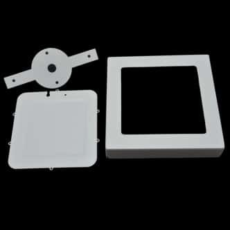 Housing Of Led Surface Panel 6watt Round