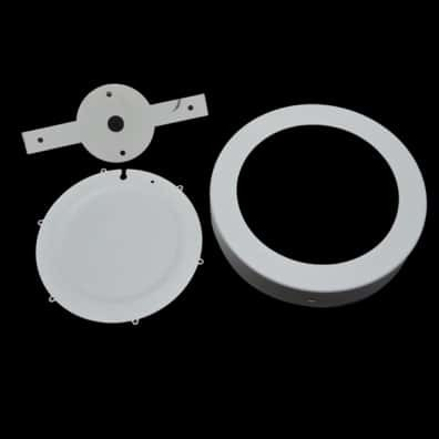 Led Surface Panel Round Fixture 12watt