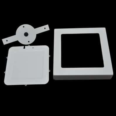 Fixture Of Led Surface Panel Square 12watt