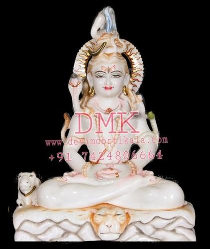 Shiv Mahadev Marble Statue