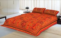 Kantha work king size double bedsheets